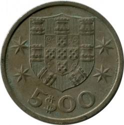 Moneda > 5escudos, 1968 - Portugal  - obverse