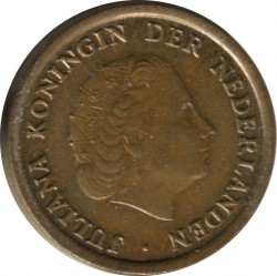 Coin > 1cent, 1959 - Netherlands  - obverse