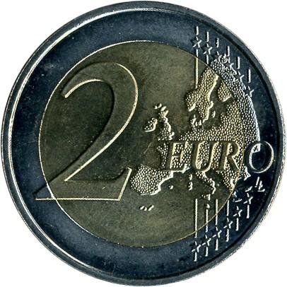 2 Euro 2007 Vertrag Von Rom Frankreich Münzen Wert Ucoinnet