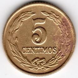 Moneta > 5sentimai, 1944-1947 - Paragvajus  - obverse