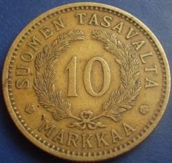 Münze > 10Mark, 1928 - Finnland  - reverse