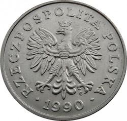 錢幣 > 100茲羅提, 1990 - 波蘭  - obverse