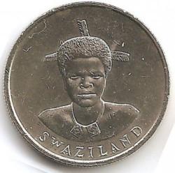 Moneta > 1lilangeni, 1986 - Suazi  - obverse