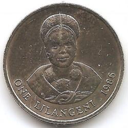 Moneta > 1lilangeni, 1986 - Suazi  - reverse
