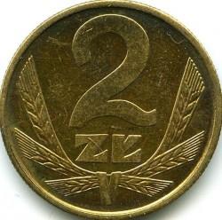 Кованица > 2злота, 1975-1985 - Пољска  - reverse
