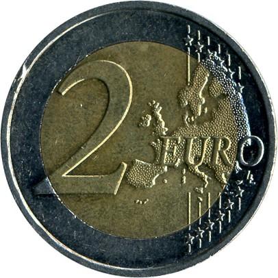 2 Euro 2012 10 Jahre Euro Bargeld Frankreich Münzen Wert