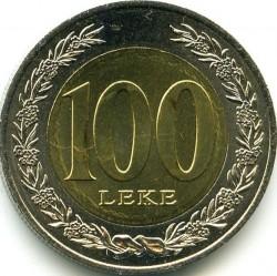 Кованица > 100лека, 2000 - Албанија  - reverse