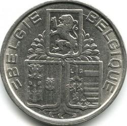 Монета > 5франка, 1938-1939 - Белгия  (Legend - 'BELGIE - BELGIQUE') - obverse