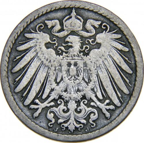 5 Pfennig 1890 1915 Deutschland Münzen Wert Ucoinnet