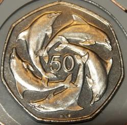 מטבע > 50פנס, 1990-1997 - גיברלטר  - reverse