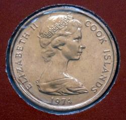 Νόμισμα > 1Σέντ, 1972-1983 - Νήσοι Κουκ  - obverse
