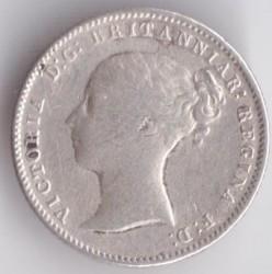 Moneta > 4pensy, 1838-1855 - Wielka Brytania  - obverse
