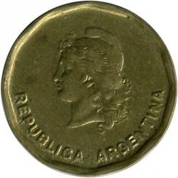 Monēta > 50sentavo, 1985-1988 - Argentīna  - reverse