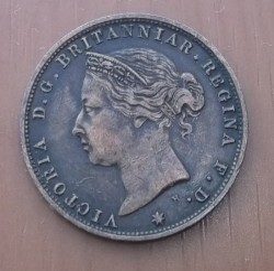 Moeda > 1/24shilling, 1877-1894 - Jersey  - reverse