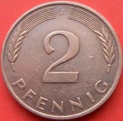 Münze > 2Pfennig, 1993 - Deutschland  - reverse
