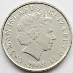 Coin > 5 cents, 1999-2013 - Cayman Islands  - obverse
