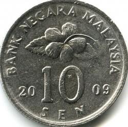 Монета > 10сена, 1989-2011 - Малайзия  - obverse