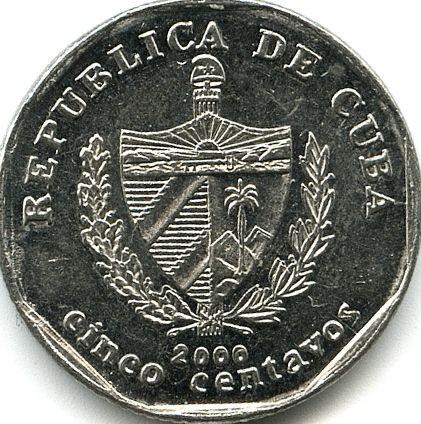 5 Centavos 1994 2018 Cuba Coin Value Ucoin