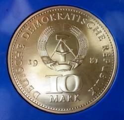 Moneda > 10marcos, 1981 - Alemania - RDA  (700º Aniversario - Emisión de moneda en Berlín) - obverse