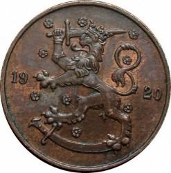 Münze > 5Penny, 1920 - Finnland  - obverse