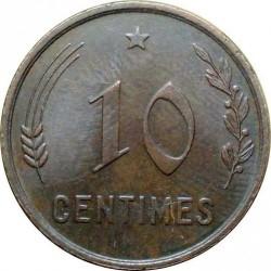 錢幣 > 10生丁, 1930 - 盧森堡  - reverse