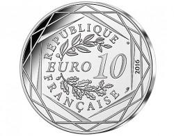 Moneda > 10euros, 2016 - Francia  (El Pequeño  Príncipe - Marsella) - reverse
