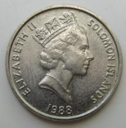 Монета > 5цента, 1987-1989 - Соломонови острови  - obverse