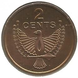 Монета > 2цента, 1977-1983 - Соломонови острови  - reverse