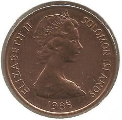 Монета > 2цента, 1985 - Соломонови острови  - obverse