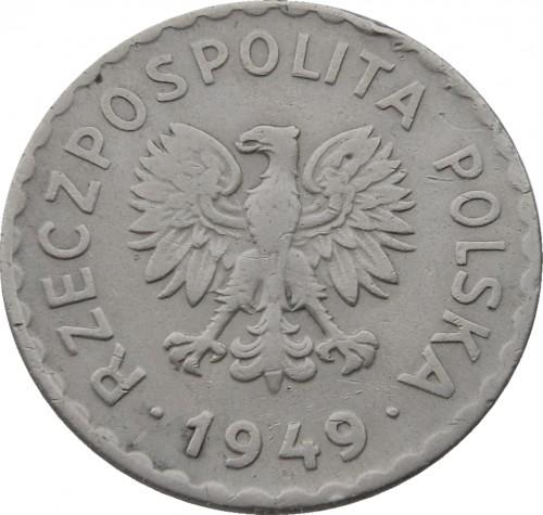 Zloty cena 1949 монета 5 копеек 2001 года стоимость сп