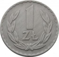 سکه > 1زلوتی, 1949 - لهستان  (Copper-Nickel, 7g) - reverse