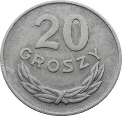 سکه > 20گروژی, 1949 - لهستان  (Aluminium, 1g) - reverse