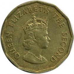 Coin > ¼shilling, 1964 - Jersey  - obverse