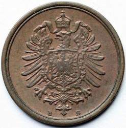 Moneda > 1penique, 1873-1889 - Alemania  - obverse