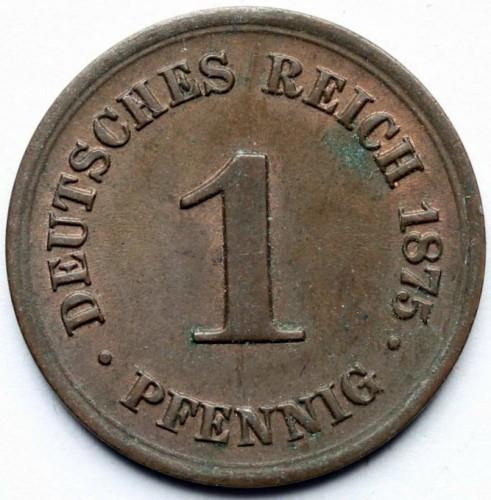 1 Pfennig 1873 1889 Deutschland Münzen Wert Ucoinnet