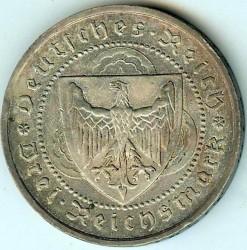 Moneda > 3reichsmark, 1930 - Alemania  (700avo Aniversario de la muerte de Walter Von der) - obverse