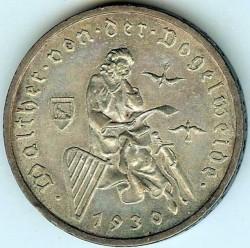 Moneda > 3reichsmark, 1930 - Alemania  (700avo Aniversario de la muerte de Walter Von der) - reverse