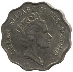 Mynt > 2dollars, 1985-1992 - Hong Kong  - obverse