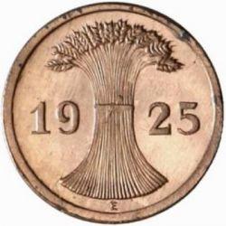 Moneda > 2reichspfennig, 1924-1936 - Alemania  - reverse
