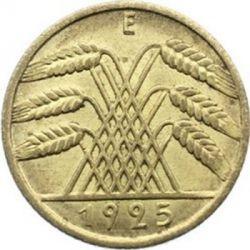 Moneda > 10reichspfennig, 1924-1936 - Alemania  - reverse