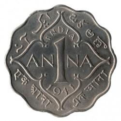 Moneta > 1anna, 1940-1941 - India Britannica  - reverse