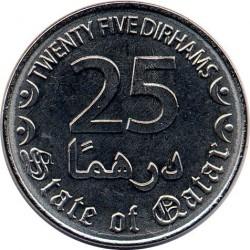 Moneta > 25dirhamai, 2016 - Kataras  - reverse