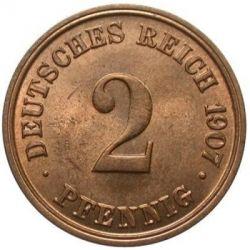 Moneta > 2pfennig, 1904-1916 - Germania  - obverse