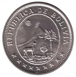 Münze > 50Centavos, 1939 - Bolivien  - obverse