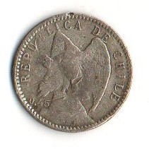 Moneta > 5centavos, 1915-1919 - Chile  - reverse