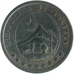 Moeda > 5centavos, 1918 - Bolívia  - obverse