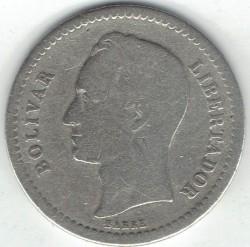 Moneta > ½bolivaro, 1944-1946 - Venesuela  - reverse