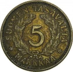 Münze > 5Mark, 1935 - Finnland  - reverse