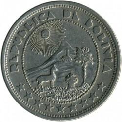 Moneda > 10centavos, 1937 - Bolivia  - obverse
