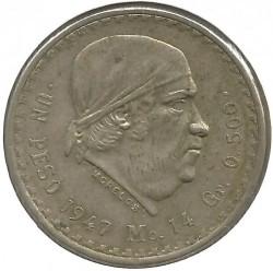Νόμισμα > 1Πέσο, 1947-1949 - Μεξικό  - reverse